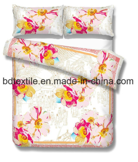 100% Polyester Microfiber Bed Sheets/Mattress Fabric For Home Textile