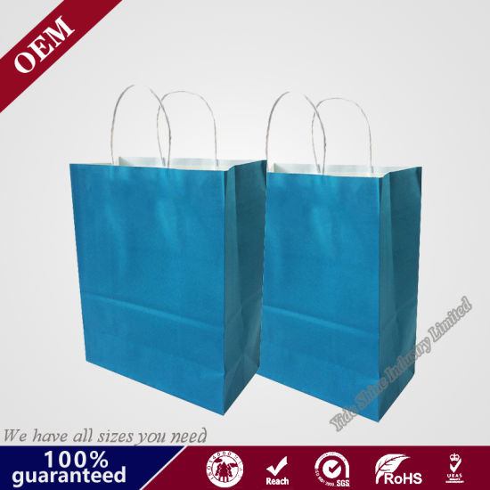 Professional Customized Paper Shopping Bag, Wholesale Customized High Quality Kraft Paper Bag, Gift Bag