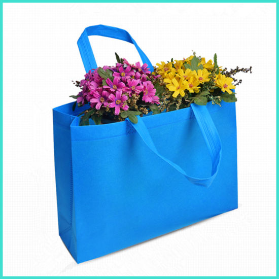 OEM Custom Logo Printing Recyclable PP Non-Woven Non Woven Foldable Tote Gift Promotion Eco Supermarket Grocery Shopping Bags