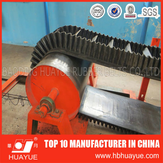 Nn/Ep Corrugated Sidewall Rubber Conveyor Belt pictures & photos