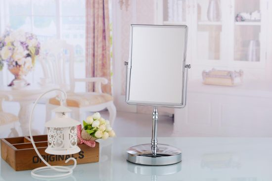 Standing Modern Rotating Metal Dressing Table Mirror pictures & photos