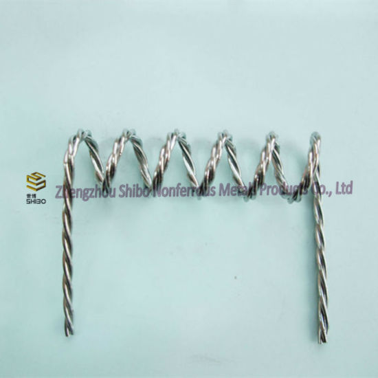 Twisted Tungsten Filament, Quad Threading Twisted Tungsten Filament pictures & photos