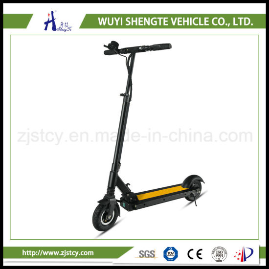 China Wholesale Cheap 2 Wheels Foldable Ce E-Scooter pictures & photos