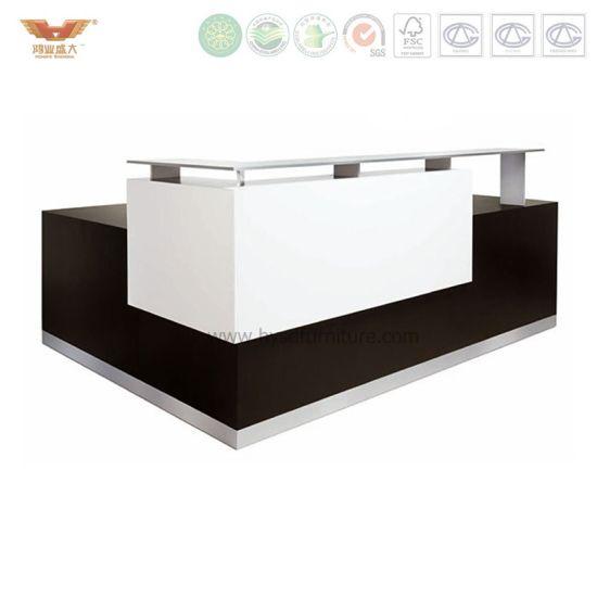 Modern Office Desk Custom Made Standing Reception
