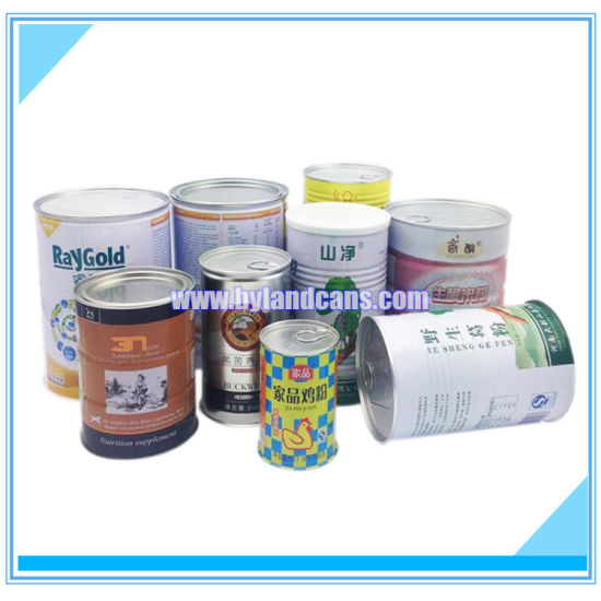 Ring Pull Tin Cans for Packaging Dry Foods pictures & photos