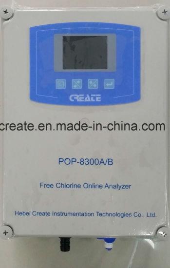 Chlorine Analyzer, Chlorine System Integration, Combine pH Free Chlorine, Temperature Online Measure and Dosing Control