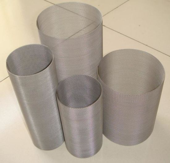 316L Stainless Steel Wire Mesh Cloth (plain weave and twill weave) pictures & photos