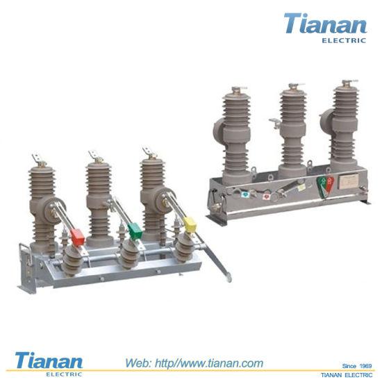 Hv Contactor Power Transmission Distribution Auto Parts Outdoor AC Vacuum Circuit Breaker