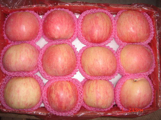 China Fresh Sweet Delicious Red/Green FUJI Star Gloden Gala Qingguan Apple with More Juicy Fruit pictures & photos