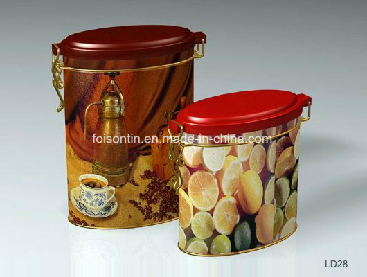 Custom Printing Metal Chinese Manufacture Tea Storage Packaging Tin Box