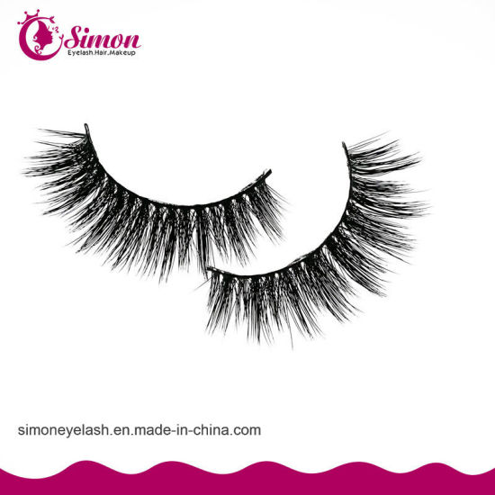 Private Label Natural Mink Hair Cosmetic Eyelashes pictures & photos