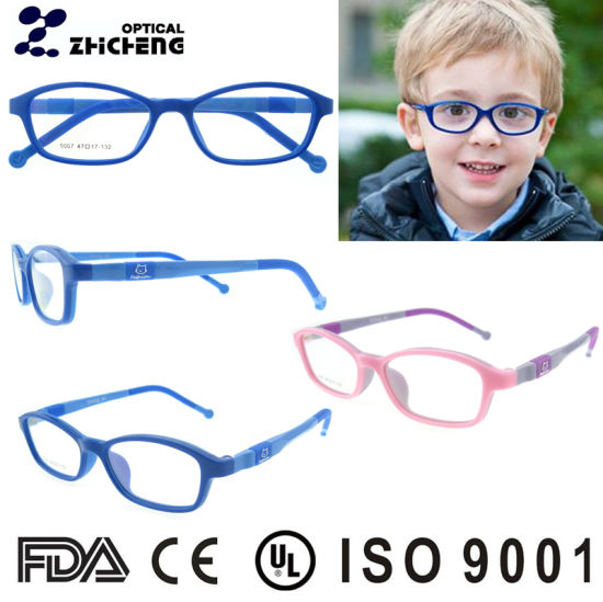 China Lovely Kids Plastic Eyeglasses Frames, Cheap Kids Optical ...