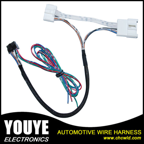 china customized automotive rearview mirror wiring harness cable rh chcwld en made in china com Marine Wiring Harness automotive wiring harness suppliers