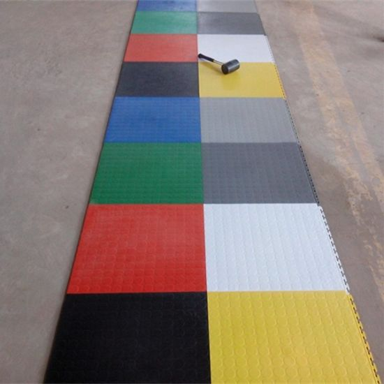 Children Outdoor Ground Vinyl Floor, PVC Vinyl Floor, Vinyl Floor, Click Vinyl Floor for Gym