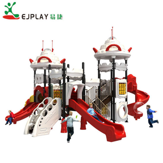 2018 UFO Theme Plastic Kid Outdoor Playground Equipment for Park (SP015)