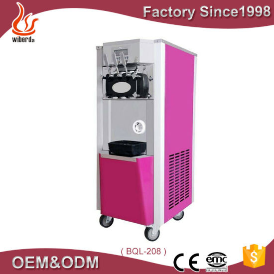 New Product Soft and Hard Ice Cream Cone Making Machine From Machine Factory