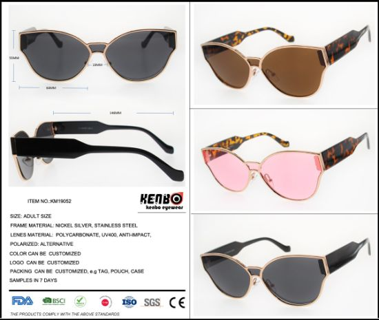 2019 New Retro West Style Sunglasses Flat Lens, Item No. Km19052 pictures & photos