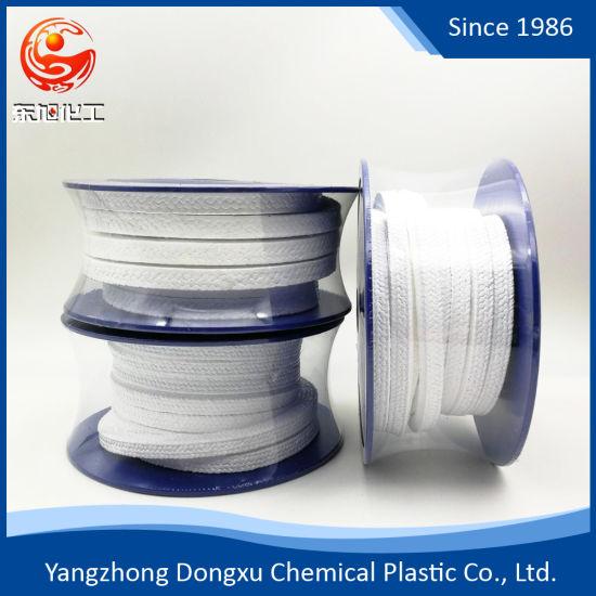 Water Meter Seals Types of Gland Packing 100% Virgin PTFE Valve Stem Packing