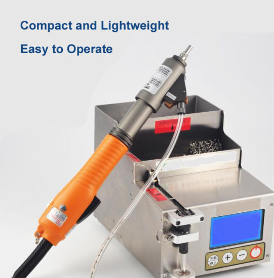 Portable Handheld Robotic Screwdriver Machine with Automatic Feeder/Handle Screwdriver System/Handheld Robotic Screw Fastening System
