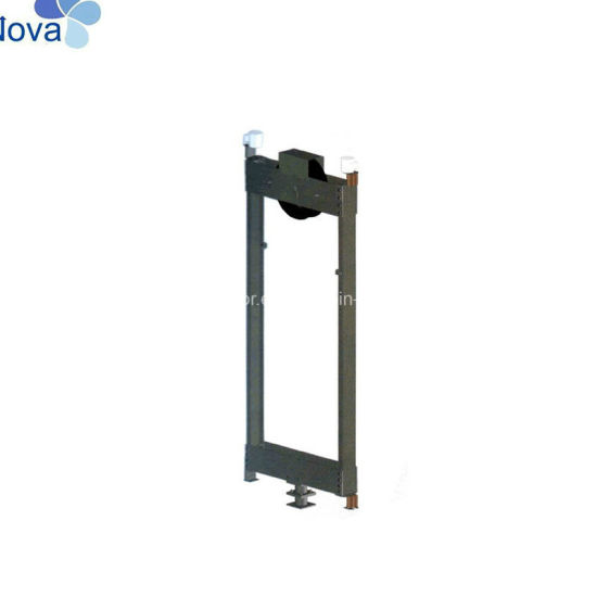 China Roping 2: 1 Elevator Components Lift Counterweight Frame