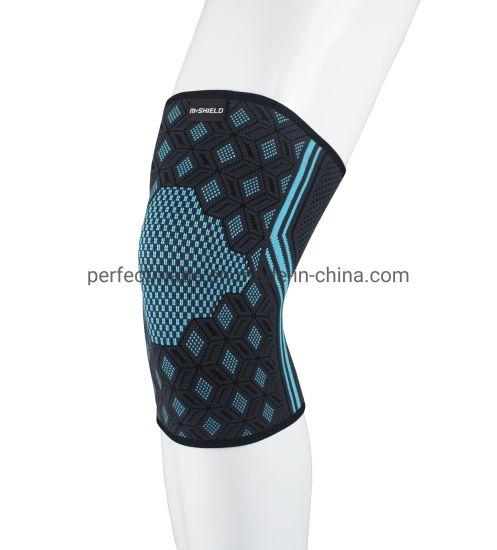 Nylon Compression Knit Sport Running Lap Knee Brace