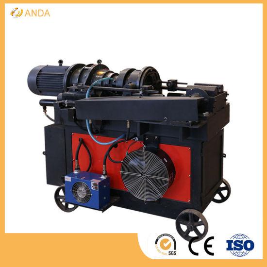 Automatic Hydraulic Threaded Machine Bar Thread Rolling Process Rebar Threading Machine