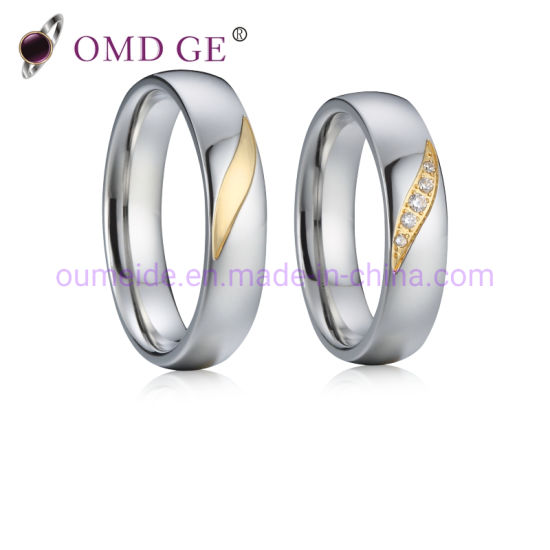 Personally Custom 925 Sterling Silver Jewelry Wedding Rings with Name