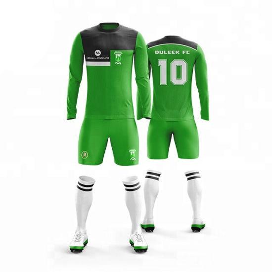 Wholesale Sublimation Unisex Trendy Style Soccer Jersey Football Shirt