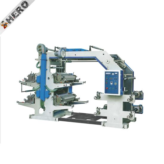 High Speed and Quality 4 Colors Flex Printing Machine Chinese Famous Brand
