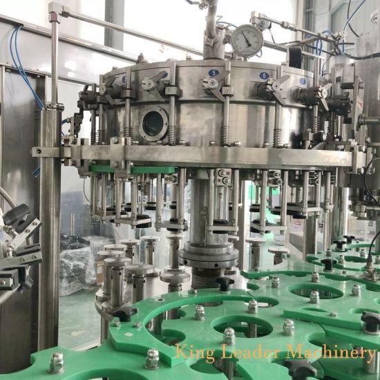 Glass Bottle Carbonated Soda Soft Drink Filling Bottling Machine