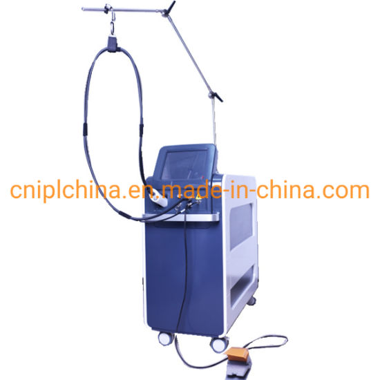2021 Best Hair Removal Laser 755nm Alexandrite Laser Cryogen Cooling Hair Removal Machine