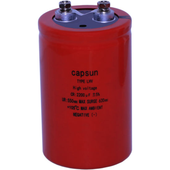 Electrolytic Capacitor for Large Machinery 550V2200UF UPS Marine Power Capacitor pictures & photos