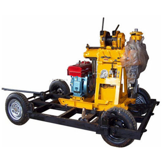 Rock Core Borehole Water Well Drilling Rig Machine