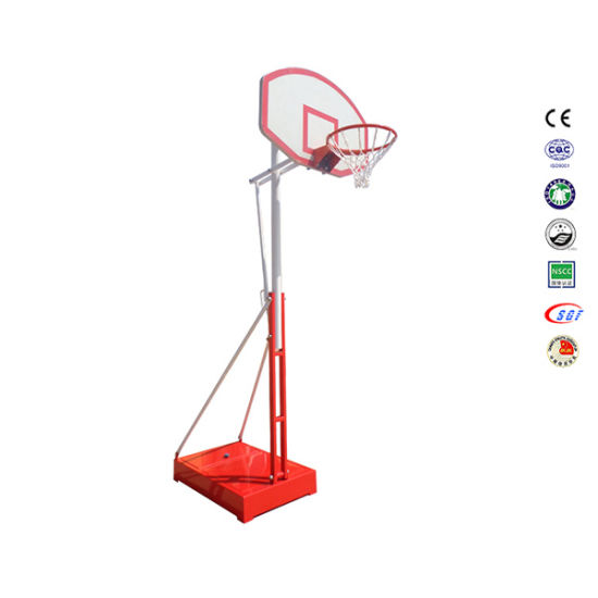 Height Adjustable Outdoor Full Size Basketball Ring with Stand