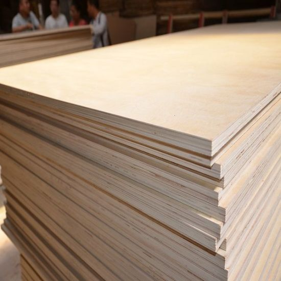 Birch Plywood with BB/CC Grade Face and Back pictures & photos