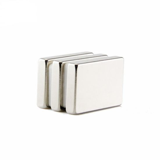 Earphones / Sensors Neodymium Block Magnets Custom Rectangle Magnet N35