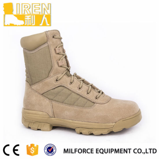 Anti-Slip Military Desert Boots pictures & photos