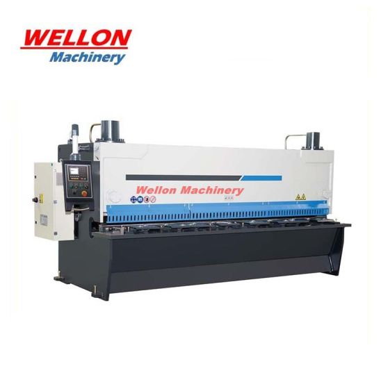 QC11K Guillotine Hydraulic Shearing Machine / Guillotine Plate Cutting Machine