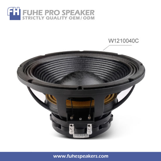 W1210040c Speaker 12inch Neodymium/Guangzhou Speakers/Audio Speakers PRO