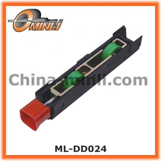 Adjustable Roller for Sliding Door and Window Plastic Bracket Pulley (ML-DD024) pictures & photos