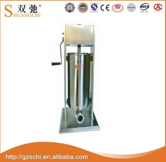 3L 5L 7lstainless Steel Vertical Manual Meat Stuffer Sausage Filler pictures & photos