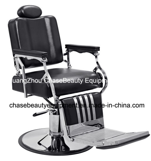 Salon Barber Chair for Man with Stainless Steel Armrest and Aluminum Pedal pictures & photos