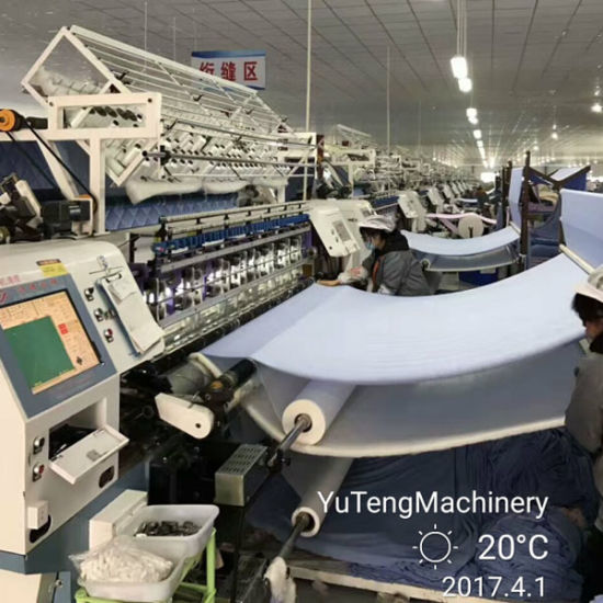 Ygb96-2-3 Computerzed Multi-Needle Quilt Machine for Bed Sheet pictures & photos