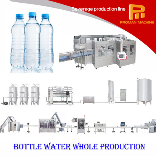 Fully Automatic Bottle Natural Mineral Drinking Water Filling Machine pictures & photos