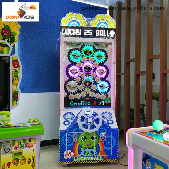 2017 New Launched Lucky Ball Coin Operated Lottery Turntable Game Machine pictures & photos