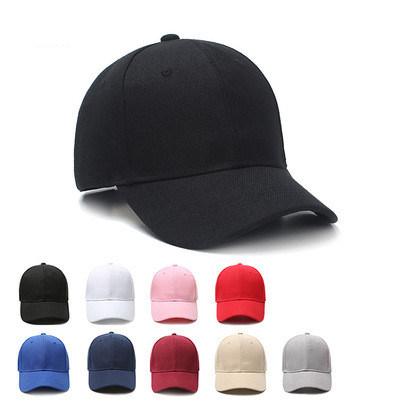 Cotton Wholesale Custom No Logo Blank Sandwich Brim Baseball Sport Cap Hat