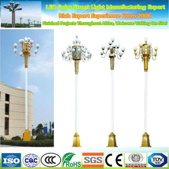 LED Outdoor Lighting Garden Landscape Decorative Street Light Pole