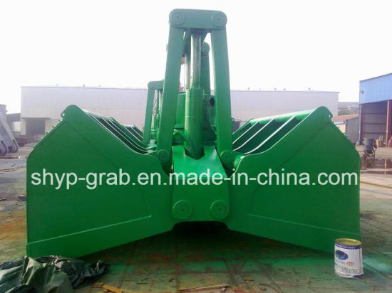 Motor Hydraulic Bulk Cargo Clamshell Grab pictures & photos