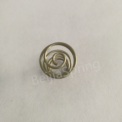 China Small Steel Coiled Wire Compression Spring - China Spring ...