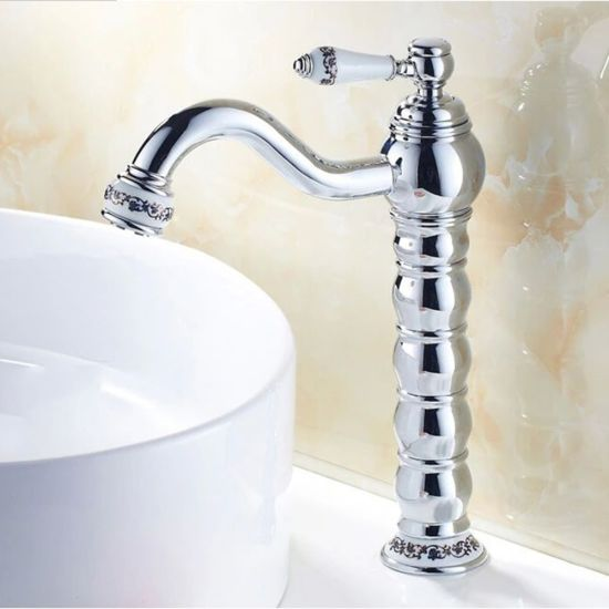 Flg Bathroom Vessel Tap with Solid Brass Single Handle pictures & photos